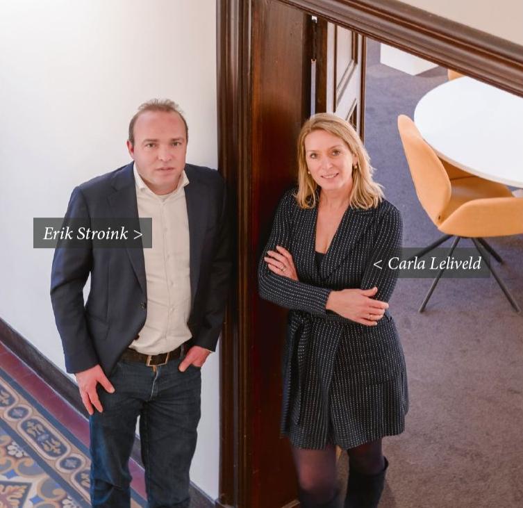 Erik Stroink - Carla Leliveld @ Business Link Builders - WIJLimburg Magazine